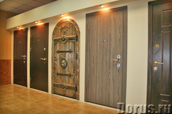 Стальные двери Решётки Гаражные ворота Тамбурные двери - Строительные услуги - Металлические двери в..., фото 1